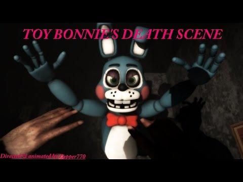 (SFM) FNAF 2 Toy Bonnie's Death Scene