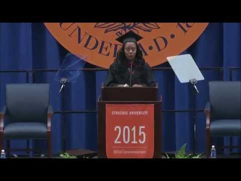 2015 Newhouse Convocation Ceremony