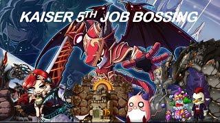 Maplestory Kaiser 5th job bossing [Read description]