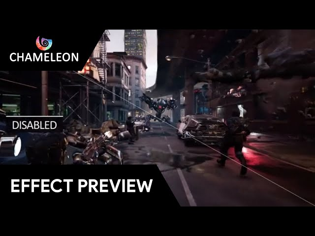 Infected - Chameleon Post Process for Unreal Engine 4