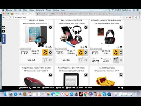 Madbid Scam or Legit !!! How they sell product for So cheap