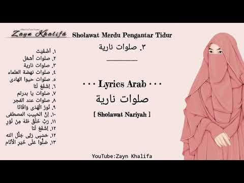 Download •KUMPULAN SHOLAWAT MERDU PENGANTAR TIDUR PENYEJUK HATI PENENANG PIKIRAN Full Lyrics Arab Mp4 baru