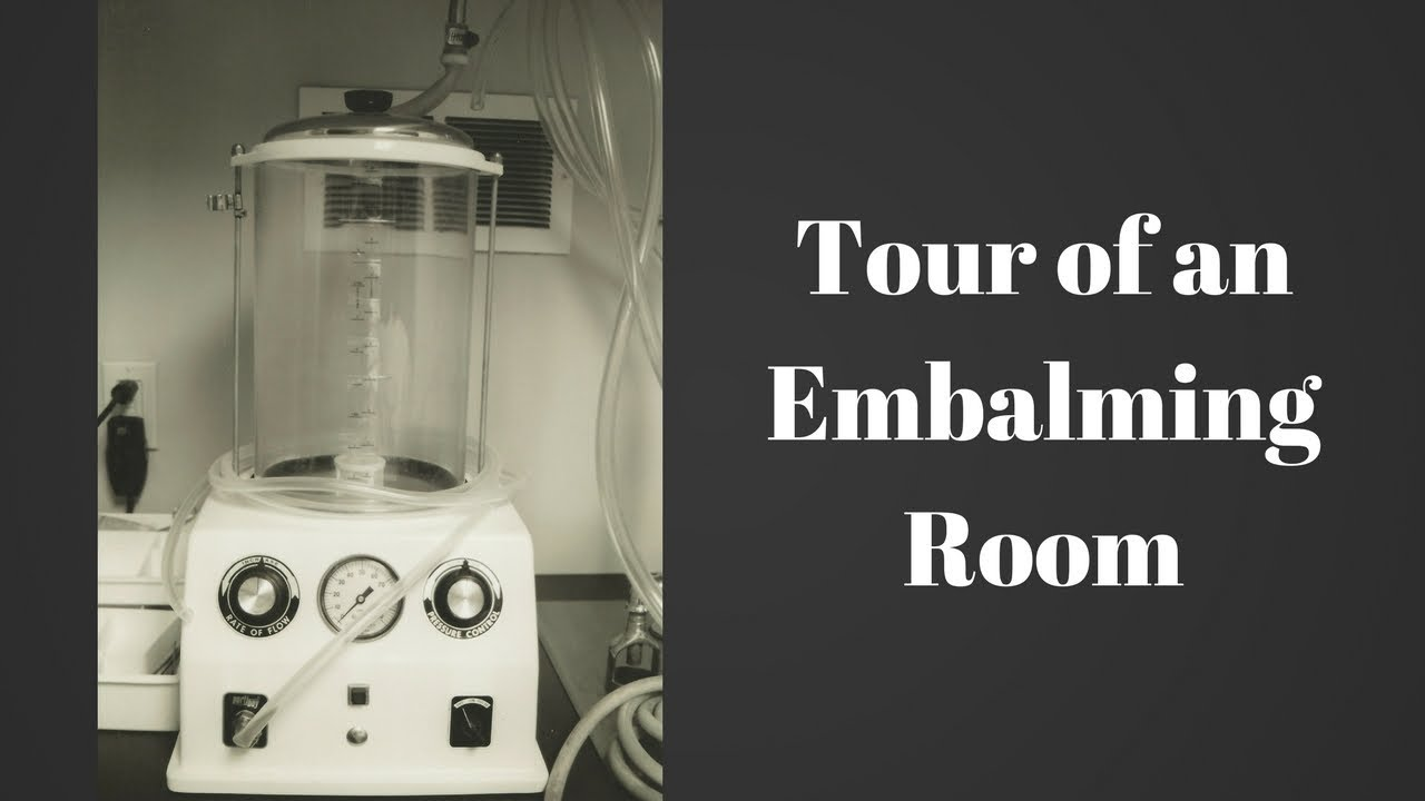 Embalming Room Tour By A Funeral Director Youtube