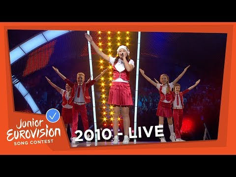 Sarlote & Sea Stones - Viva La Dance - Latvia - 2010 Junior Eurovision Song Contest