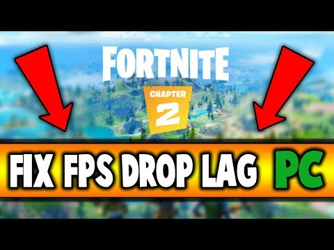 How To FIX FPS Drop And STUTTER In FORTNITE Chapter 2 (PC)