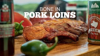 BONE-IN Pork Loin