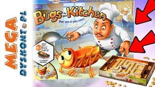 KARALUCHY W KUCHNI ️ La Cucaracha Bugs in the Kitchen ️ Hexbug Nano ️ Gra Ravensburger