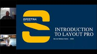 Spectra Geospatial Webinar, Introduction to Layout Pro