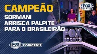 """""""EU ACHO QUE VAI SER CAMPEÃO"""": Sormani arrisca palpite para o Brasileirão"""