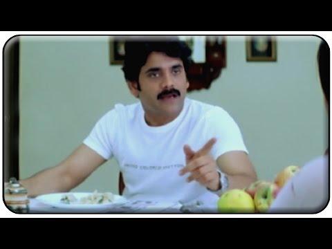 Nagarjuna Preparing Food Comedy Scene || Manmadhudu Movie