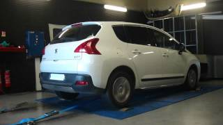 * Reprogrammation Moteur * Peugeot 3008 hdi 150cv @ 187cv Dyno Digiservices Paris