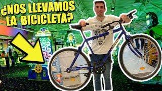 ¿Me Gane La Bicicleta Solo Con Tickets De Maquinitas?