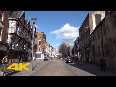 Gloucester Walk: Docks to Gloucester Cathedral【4K】