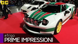 Lancia Stratos   Stratosferica su base Alfa Romeo 4C