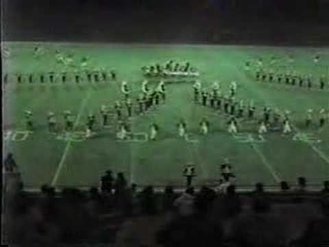 Falls Church High School Marching Band - 1982 - YouTube