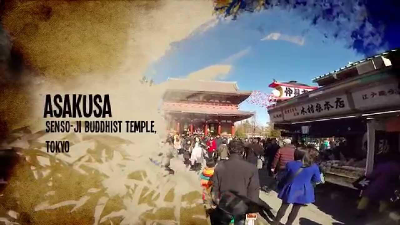 Rtw Trip Episode  Asakusa Tokyo Japan