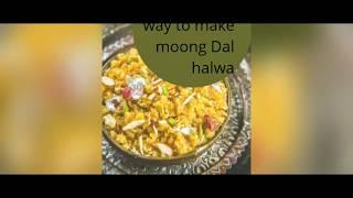 Instant moong Dal halwa ||yummmyyyyy|| Delicious ||Healthy.