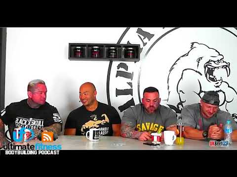Aarron Lambo - Lee Priest - Simon Fan - Dean Lesiak - The Ultimate Fitness Bodybuilding Podcast