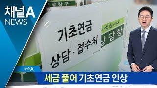 """세금 풀어 기초연금 인상…""""소득주도 성장 추진"""" thumbnail"""