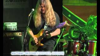 Mattias IA Eklundh (live in Koleso club, Arkhangelsk, Russia) 29 mar 2014