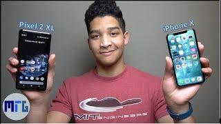 Pixel 2 XL vs iPhone X: Full Comparison | Best Phone of 2017