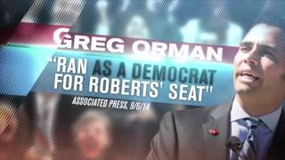 Political Attack Ads - US Senate Race - Kansas 2014