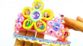 Новая игрушка для детского творчества, украшаем корону принцессы
