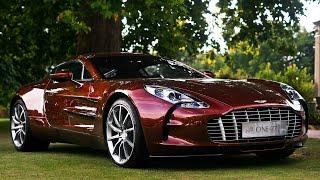 Мегазаводы: Aston Martin One-77 Автомобиль Агента 007