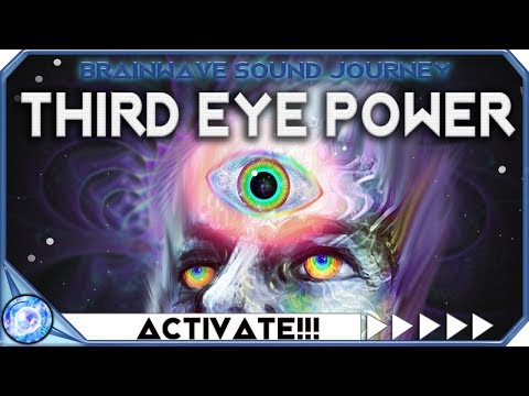UNLEASH!!! THIRD EYE POWER : Third Eye Activation Frequency Music: USE IF READY!!! OPEN THIRD EYE