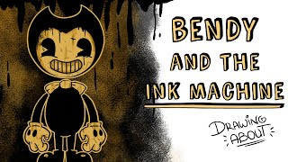 BENDY AND THE INK MACHINE | Draw My Life