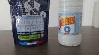 [FR] Le mélange vinaigre + bicarbonate de soude est-il vraiment efficace ?
