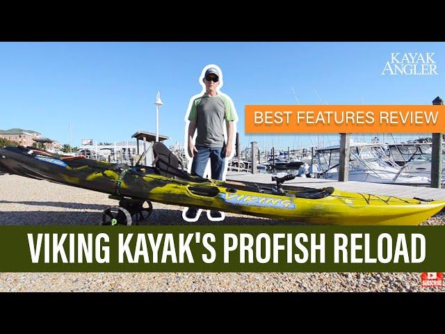Viking Kayak's Profish Reload   Fishing Kayak   Features Review & Walk Around