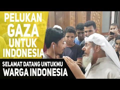 Pelukan Warga Palestina Untuk Indonesia
