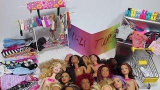 Yazı Tura Barbie Kombin Challenge!! 10 Saniyede Barbie İçin Kombin Yap!! - Bidünya Oyuncak