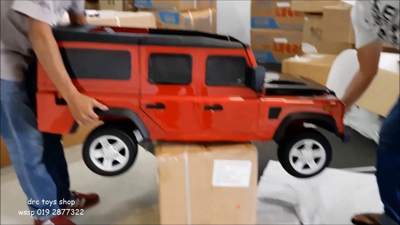 defender d110 original under license ride on children car  [ 1280 x 720 Pixel ]