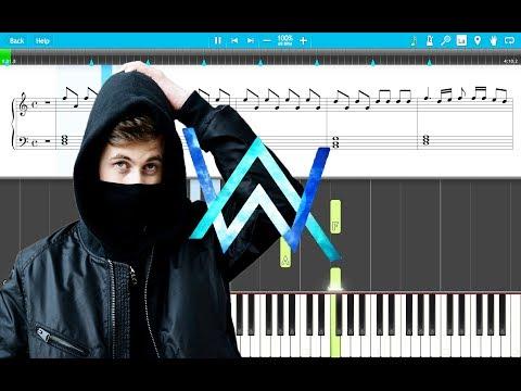 alan-walker---diamond-heart-piano-tutorial-easy-(piano-cover)-with-sheets