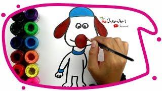 Shaun Koyun köpeği 92 [Çizgi film Karakterleri Bölüm#] Çizmek ve Boyama Öğrenmek