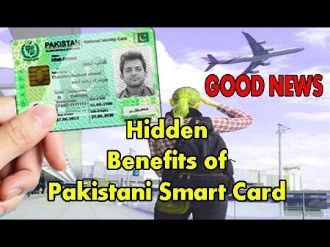 Nadra national identity card for overseas smart card