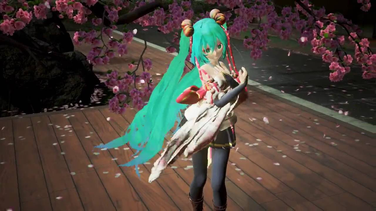Miku Miku Dance + Unreal Engine 4 (Eletric Love) by Hinoyele