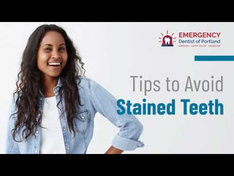 [emergency-dentist-of-portland]-storytelling:-tips-to-avoid-stained-teeth