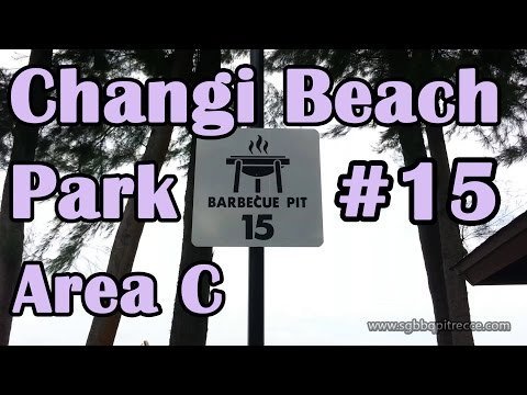 Changi Beach Park BBQ Pit 15 Area C