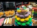 4K  Specialized cakes, pastries, sweet at Granville Island  Vancouver BC
