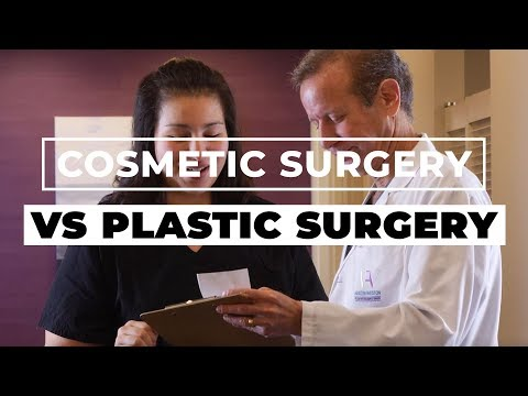 Plastic vs Cosmetic Surgery: What's the Difference?