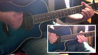 Ed Sheeran - The A Team (Acoustic Guitar Cover) - matthewscott92