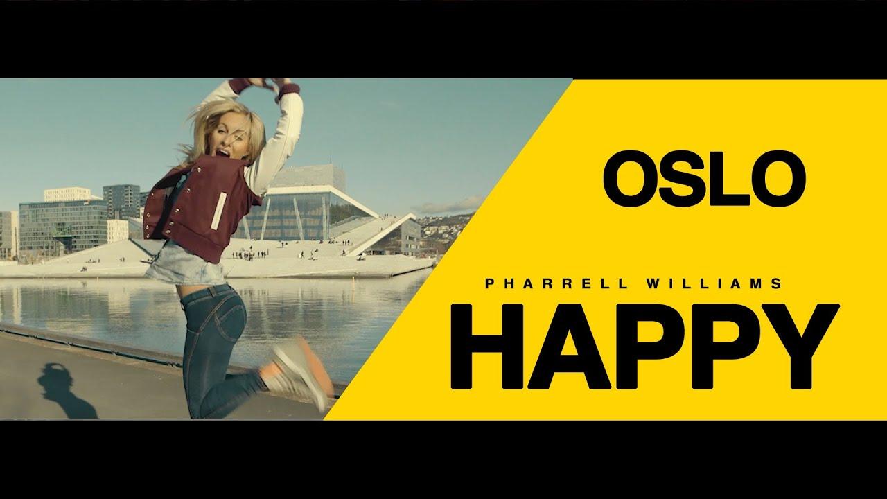 Pharrell Williams - Happy (Oslo)