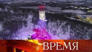 В России создана крупнейшая в мире сеть цифрового вещания.