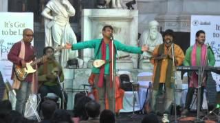 Rocking performance by Sahajiya Folk Band at Kolkata Literary Meet 2016