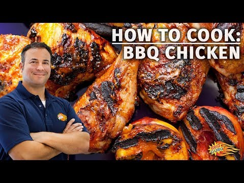 How to Cook Backyard BBQ Chicken Thighs and Drumsticks - BBQ Guru Barbecue Recipes