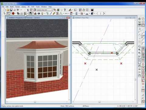 Bay windows how to use the bay window tool in chief for Bay window construction details