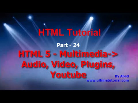 Multimedia, audio, video, youtube